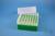 EPPi® Box 102 / 7x7 Löcher, grün, Höhe 102 mm fix, alpha-num. Codierung, PP....