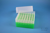 EPPi® Box 102 / 7x7 Löcher, neon-grün, Höhe 102 mm fix, alpha-num. Codierung,...