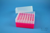 EPPi® Box 102 / 7x7 Löcher, neon-rot/pink, Höhe 102 mm fix, alpha-num....