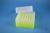 EPPi® Box 102 / 7x7 Löcher, neon-gelb, Höhe 102 mm fix, alpha-num. Codierung,...