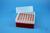 EPPi® Box 102 / 7x7 Löcher, rot, Höhe 102 mm fix, alpha-num. Codierung, PP....