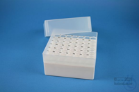EPPi® Box 102 / 7x7 holes, white, height 102 mm fix, alpha-num. ID code, PP....