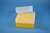 EPPi® Box 102 / 7x7 Löcher, gelb, Höhe 102 mm fix, alpha-num. Codierung, PP....