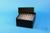 EPPi® Box 102 / 8x8 Löcher, black/black, Höhe 102 mm fix, alpha-num....