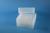 EPPi® Box 102 / 8x8 Löcher, transparent, Höhe 102 mm fix, alpha-num....