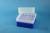 EPPi® Box 102 / 8x8 Löcher, neon-blau, Höhe 102 mm fix, alpha-num. Codierung,...