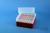 EPPi® Box 102 / 8x8 Löcher, rot, Höhe 102 mm fix, alpha-num. Codierung, PP....