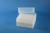 EPPi® Box 102 / 8x8 Löcher, weiss, Höhe 102 mm fix, alpha-num. Codierung, PP....