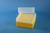 EPPi® Box 102 / 8x8 Löcher, gelb, Höhe 102 mm fix, alpha-num. Codierung, PP....