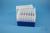 EPPi® Box 105 / 7x7 Löcher, blau, Höhe 105 mm fix, alpha-num. Codierung, PP....