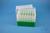 EPPi® Box 105 / 7x7 Löcher, grün, Höhe 105 mm fix, alpha-num. Codierung, PP....