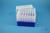 EPPi® Box 105 / 7x7 Löcher, neon-blau, Höhe 105 mm fix, alpha-num. Codierung,...