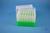 EPPi® Box 105 / 7x7 Löcher, neon-grün, Höhe 105 mm fix, alpha-num. Codierung,...