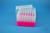 EPPi® Box 105 / 7x7 Löcher, neon-rot/pink, Höhe 105 mm fix, alpha-num....