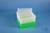 EPPi® Box 105 / 8x8 Löcher, neon-grün, Höhe 105 mm fix, alpha-num. Codierung,...