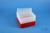 EPPi® Box 105 / 8x8 Löcher, rot, Höhe 105 mm fix, alpha-num. Codierung, PP....