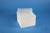 EPPi® Box 105 / 8x8 Löcher, weiss, Höhe 105 mm fix, alpha-num. Codierung, PP....