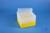 EPPi® Box 105 / 8x8 Löcher, gelb, Höhe 105 mm fix, alpha-num. Codierung, PP....