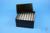EPPi® Box 122 / 7x7 Löcher, black/black, Höhe 122 mm fix, alpha-num....
