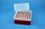 EPPi® Box 122 / 7x7 Löcher, rot, Höhe 122 mm fix, alpha-num. Codierung, PP....