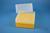 EPPi® Box 122 / 7x7 Löcher, gelb, Höhe 122 mm fix, alpha-num. Codierung, PP....