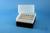 EPPi® Box 122 / 8x8 Löcher, schwarz, Höhe 122 mm fix, alpha-num. Codierung,...