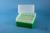 EPPi® Box 122 / 8x8 Löcher, grün, Höhe 122 mm fix, alpha-num. Codierung, PP....