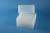EPPi® Box 122 / 8x8 Löcher, transparent, Höhe 122 mm fix, alpha-num....