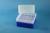 EPPi® Box 122 / 8x8 Löcher, neon-blau, Höhe 122 mm fix, alpha-num. Codierung,...