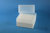 EPPi® Box 122 / 8x8 Löcher, weiss, Höhe 122 mm fix, alpha-num. Codierung, PP....