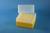 EPPi® Box 122 / 8x8 Löcher, gelb, Höhe 122 mm fix, alpha-num. Codierung, PP....