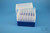 EPPi® Box 128 / 7x7 Löcher, blau, Höhe 128 mm fix, alpha-num. Codierung, PP....