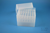EPPi® Box 128 / 7x7 Löcher, transparent, Höhe 128 mm fix, alpha-num....