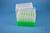 EPPi® Box 128 / 7x7 Löcher, neon-grün, Höhe 128 mm fix, alpha-num. Codierung,...