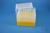 EPPi® Box 128 / 7x7 Löcher, gelb, Höhe 128 mm fix, alpha-num. Codierung, PP....