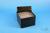 EPPi® Box 128 / 8x8 Löcher, black/black, Höhe 128 mm fix, alpha-num....