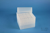 EPPi® Box 128 / 8x8 Löcher, transparent, Höhe 128 mm fix, alpha-num....