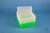 EPPi® Box 128 / 8x8 Löcher, neon-grün, Höhe 128 mm fix, alpha-num. Codierung,...