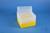 EPPi® Box 128 / 8x8 Löcher, gelb, Höhe 128 mm fix, alpha-num. Codierung, PP....