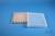 EPPi® Box 32 / 12x12 konische Löcher, transparent, Höhe 32 mm fix, alpha-num....