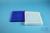 EPPi® Box 32 / 12x12 konische Löcher, neon-blau, Höhe 32 mm fix, alpha-num....