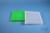 EPPi® Box 32 / 12x12 konische Löcher, neon-grün, Höhe 32 mm fix, alpha-num....