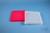 EPPi® Box 32 / 12x12 konische Löcher, neon-rot/pink, Höhe 32 mm fix,...