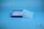 EPPi® Box 37 / 10x10 Löcher, blau, Höhe 37 mm fix, alpha-num. Codierung, PP....