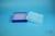 EPPi® Box 37 / 10x10 Löcher, neon-blau, Höhe 37 mm fix, alpha-num. Codierung,...
