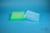 EPPi® Box 37 / 10x10 Löcher, neon-grün, Höhe 37 mm fix, alpha-num. Codierung,...