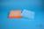 EPPi® Box 37 / 10x10 Löcher, neon-orange, Höhe 37 mm fix, alpha-num....