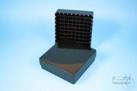 EPPi® Box 45 / 9x9 divider, black/black, height 45-53 mm variable, alpha-num....