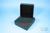 EPPi® Box 45 / 9x9 Fächer, black/black, Höhe 45-53 mm variabel, alpha-num....