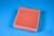 EPPi® Box 45 / 9x9 Fächer, neon-orange, Höhe 45-53 mm variabel, alpha-num....